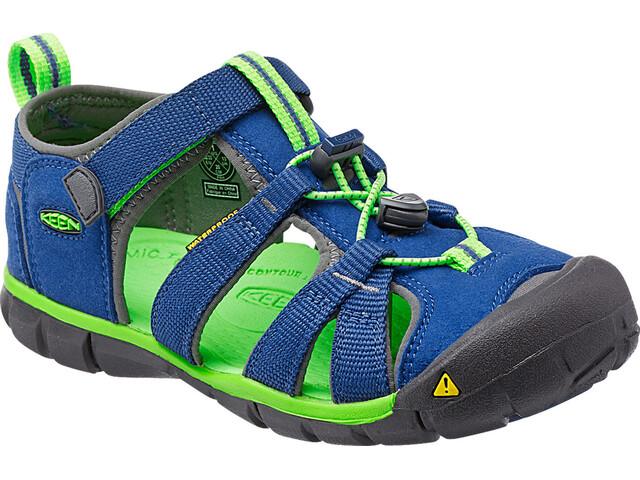 Keen Seacamp II CNX Sandaalit Lapset, true blue/jasmine green
